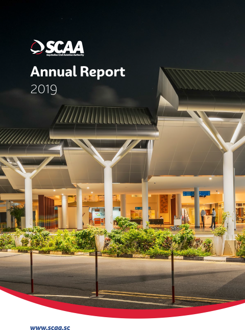 SCAA Annual Report 2019 Cover