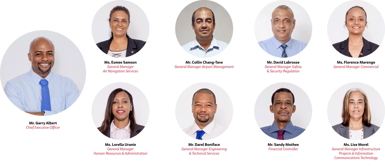 SCAA Management Team (February 2021)